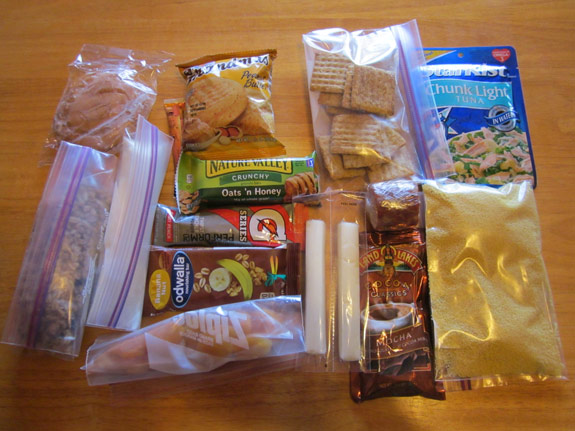 Ultralight Backpacking Meal Plan - Day 2